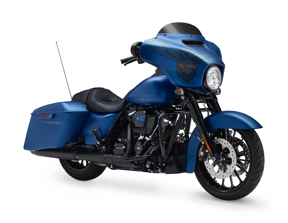 Harley-Davidson Ravenna STREET GLIDE 115 ANNIVERSARY