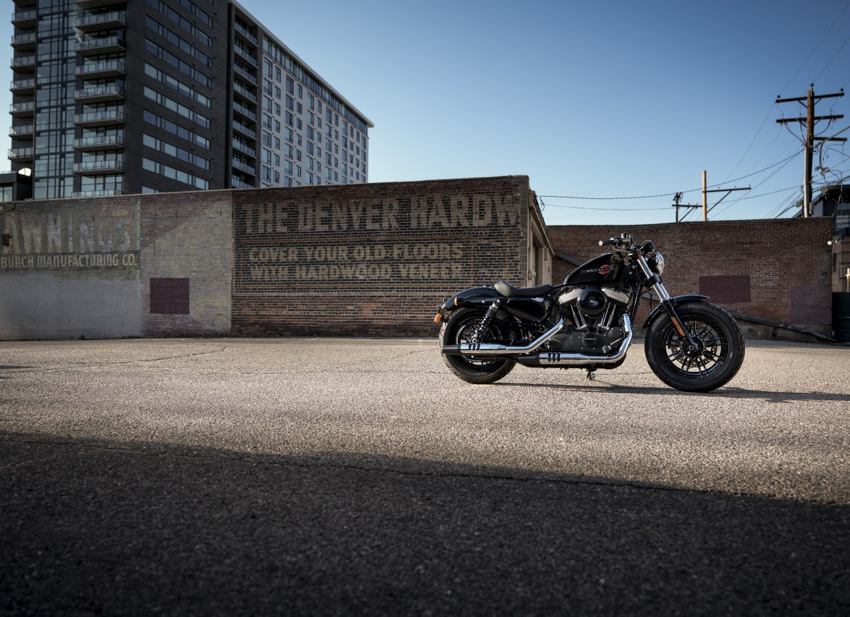 harley-davidson ravenna - FORTY-EIGHT 1200 VIVID BLACK