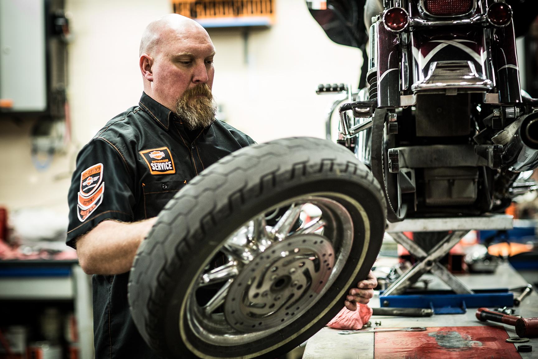 Harley-Davidson Ravenna Pneumatici